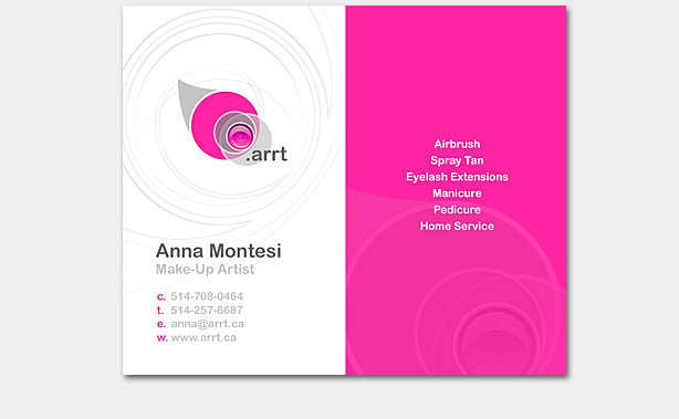 Arrt Business Card