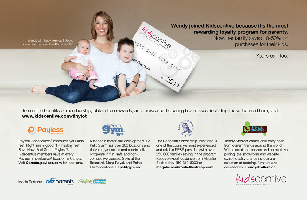 Kidscentive Printed Advertisement