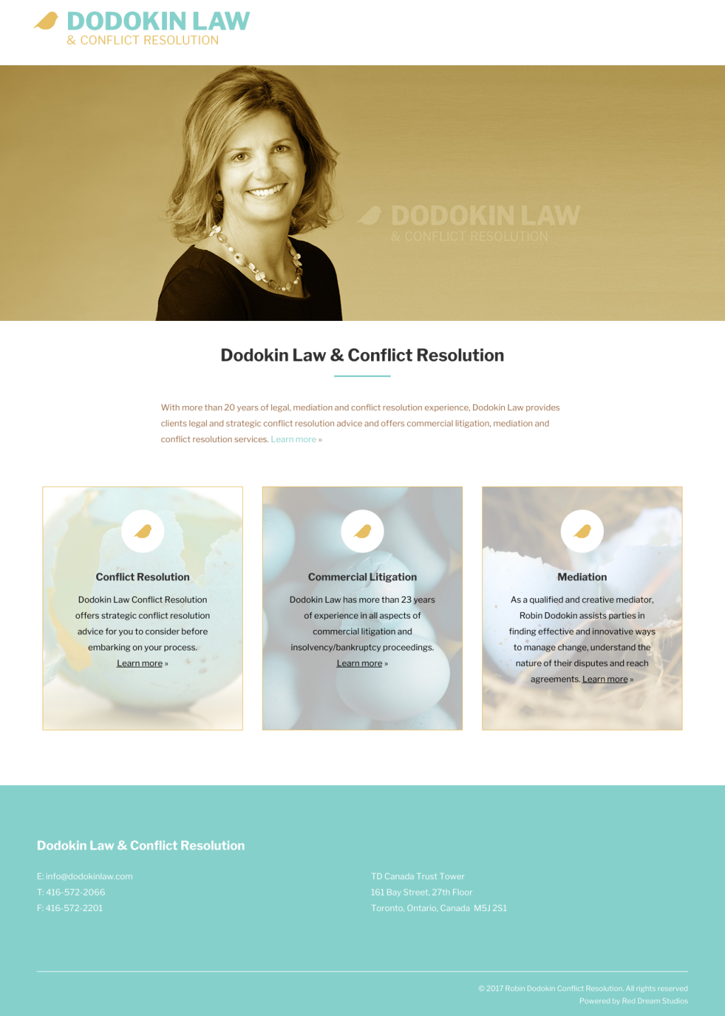 Dodokin Conflict Resolution Website