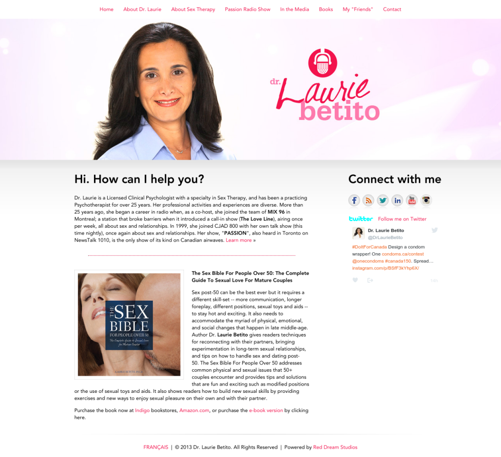 Laurie Betito Website